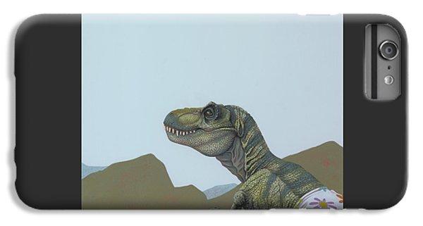Tyranosaurus Rex IPhone 6s Plus Case by Jasper Oostland
