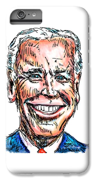 Vice President Joe Biden IPhone 6s Plus Case by Robert Yaeger