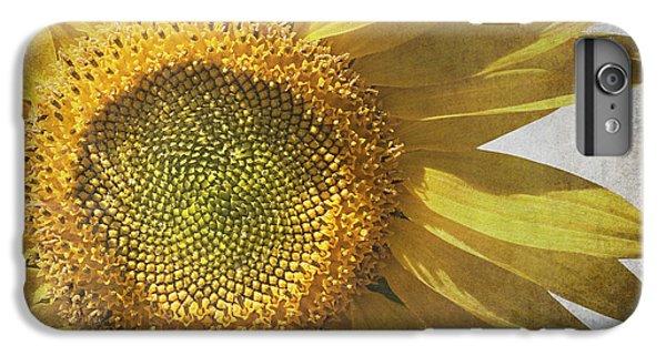Vintage Sunflower IPhone 6s Plus Case by Jane Rix