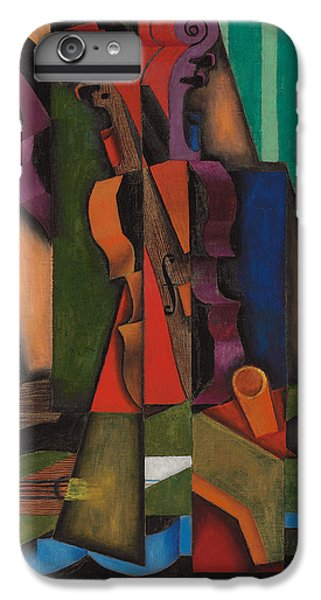 Violin And Guitar IPhone 6s Plus Case by Juan Gris