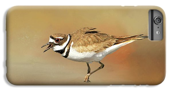 Wading Killdeer IPhone 6s Plus Case by Donna Kennedy