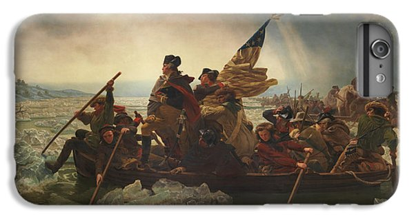 Washington Crossing The Delaware IPhone 6s Plus Case by War Is Hell Store