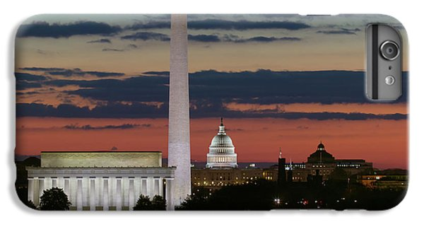 Washington Dc Landmarks At Sunrise I IPhone 6s Plus Case by Clarence Holmes