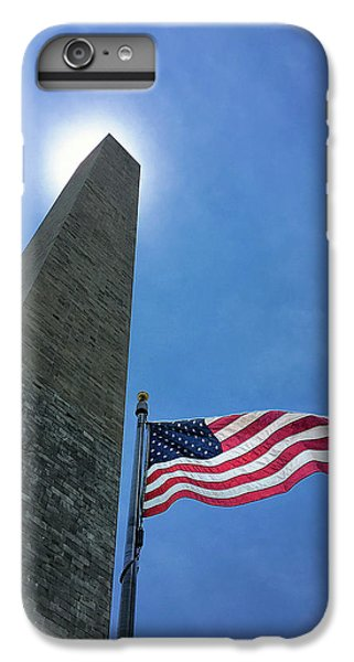 Washington Monument IPhone 6s Plus Case by Andrew Soundarajan