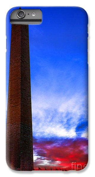 Washington Monument Glory IPhone 6s Plus Case by Olivier Le Queinec