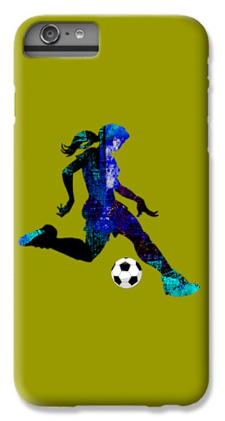 Womens Girls Soccer Collection IPhone 6s Plus Case by Marvin Blaine