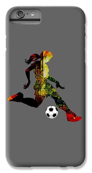 Womens Soccer Collection IPhone 6s Plus Case by Marvin Blaine