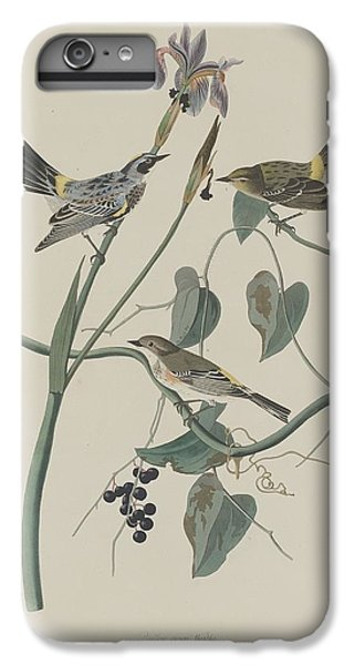 Yellow-crown Warbler IPhone 6s Plus Case by John James Audubon