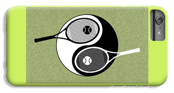 Yin Yang Tennis IPhone 6s Plus Case by Carlos Vieira