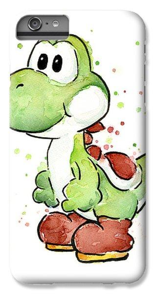 Yoshi Watercolor IPhone 6s Plus Case by Olga Shvartsur