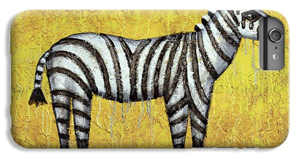 Zebra IPhone 6s Plus Case by Kelly Jade King