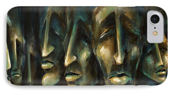 ' Jury Of Eight ' IPhone Case by Michael Lang