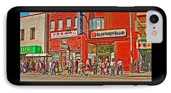 Bus Stop  Phone Case by Joseph Coulombe
