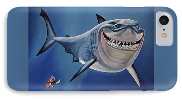 Finding Nemo Painting IPhone Case by Paul Meijering