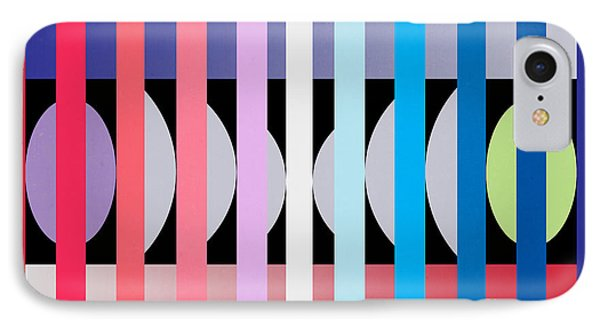 Fun Geometric  IPhone Case by Mark Ashkenazi