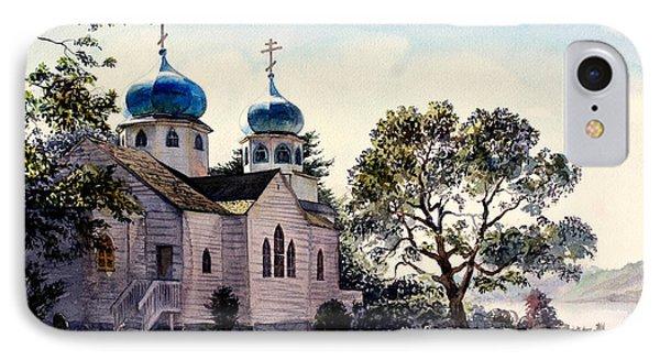 Holy Resurrection Cathedral Kodiak IPhone Case by Vladimir Zhikhartsev