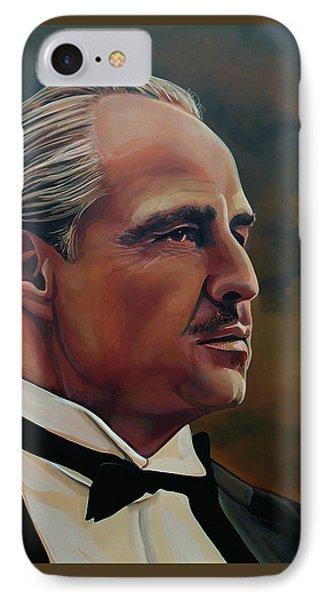 Marlon Brando IPhone Case by Paul Meijering
