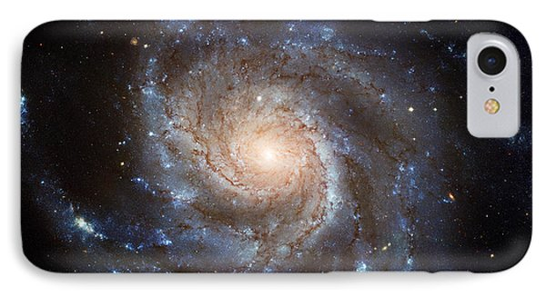 Messier 101 Phone Case by Barbara McMahon