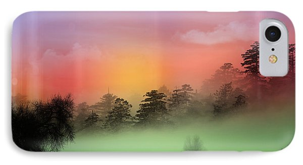 Mist Coloring Day IPhone Case by Mark Ashkenazi