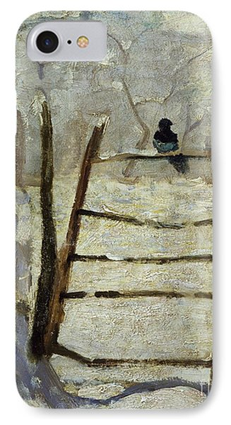 The Magpie IPhone 7 Case by Claude Monet