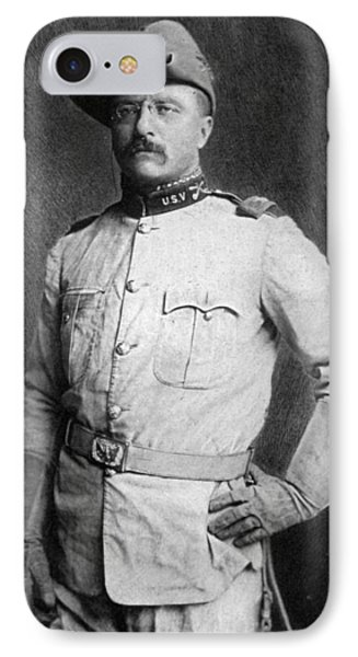 Theodore Roosevelt IPhone Case by American School