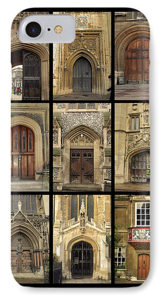 Uk Doors Phone Case by Christo Christov