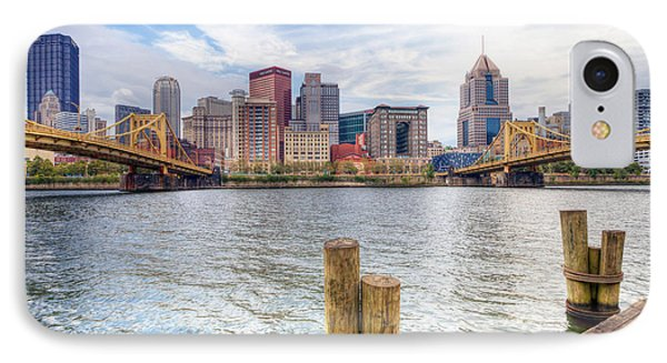 0310 Pittsburgh 3 IPhone Case by Steve Sturgill