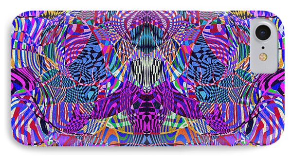 0476 Abstract Thought Phone Case by Chowdary V Arikatla