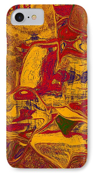 0518 Abstract Thought Phone Case by Chowdary V Arikatla