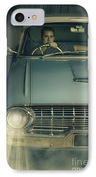 1950 Era American Car Culture  IPhone Case by Jorgo Photography - Wall Art Gallery