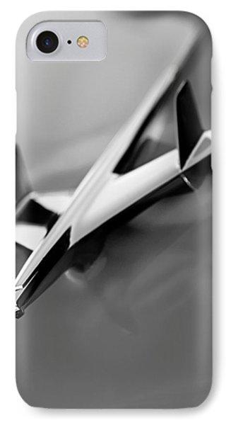 1955 Chevrolet Belair Nomad Hood Ornament Phone Case by Jill Reger