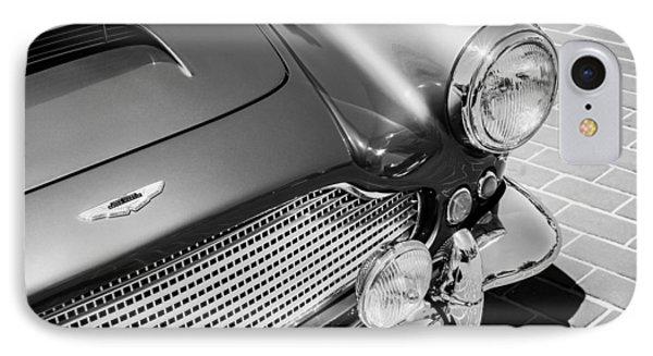 1960 Aston Martin Db4 Series II Grille Phone Case by Jill Reger