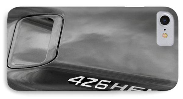 1971 Dodge Hemi Challenger Rt 426 Hemi Emblem Phone Case by Jill Reger