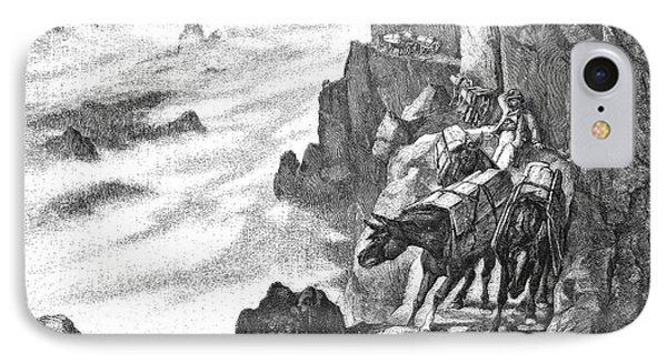 19th Century Smugglers IPhone Case by Bildagentur-online/tschanz