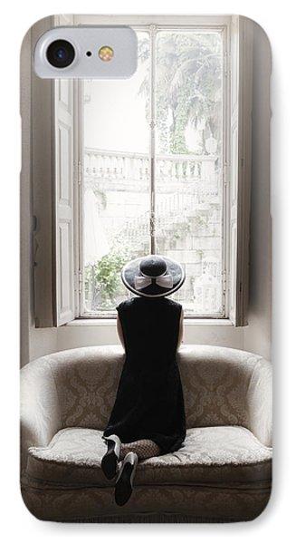 40s Lady Phone Case by Joana Kruse