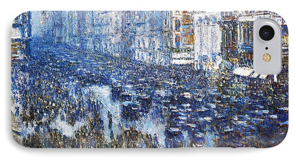 Fifth Avenue IPhone Case by Childe Hassam