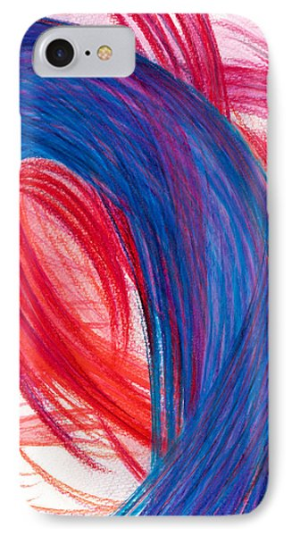 A Passionate Intuition IPhone Case by Kelly K H B