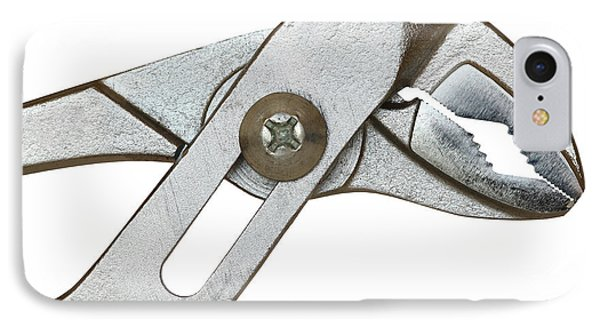 Adjustable Joint Pliers IPhone Case by Michal Boubin
