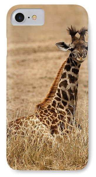 Africa, Kenya, Masai Mara Game Reserve IPhone Case by Joe and Mary Ann Mcdonald