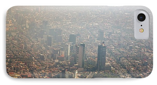 Air Pollution In Mexico City IPhone Case by Jim West