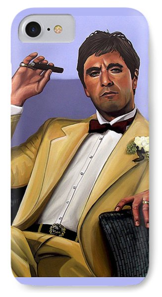 Al Pacino IPhone Case by Paul Meijering