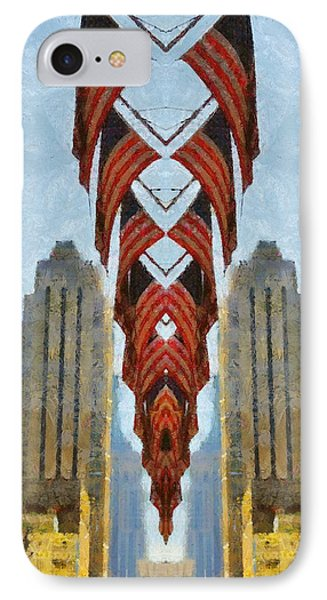American Architecture Phone Case by Dan Sproul