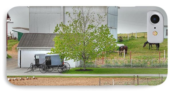 An Amish Farm Phone Case by Dyle   Warren