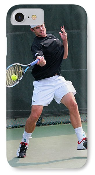 Andy Roddick  IPhone Case by James Marvin Phelps