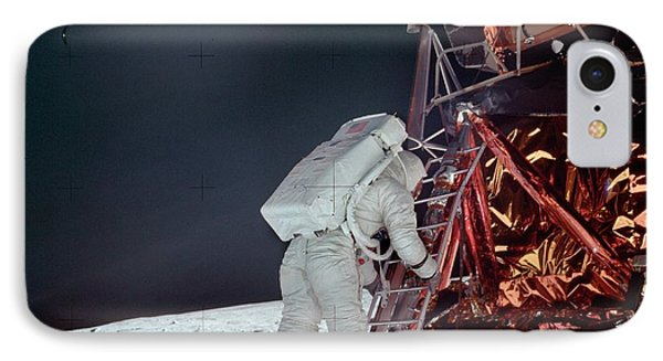 Apollo 11 Moon Landing IPhone 7 Case by Image Science And Analysis Laboratory, Nasa-johnson Space Center