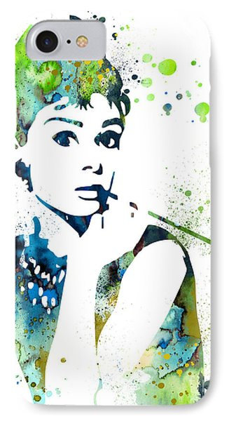 Audrey Hepburn  IPhone 7 Case by Luke and Slavi