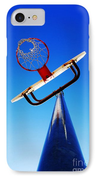 Basketball Hoop Phone Case by Lane Erickson