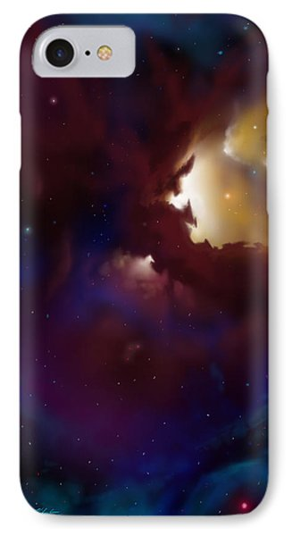 Bat Nebula IPhone Case by James Christopher Hill
