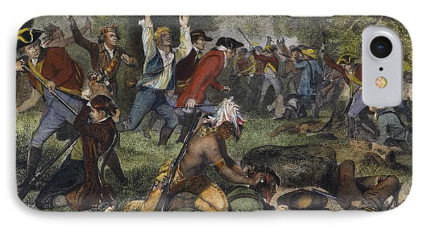 Battle Of Wyoming, 1778 IPhone Case by Granger