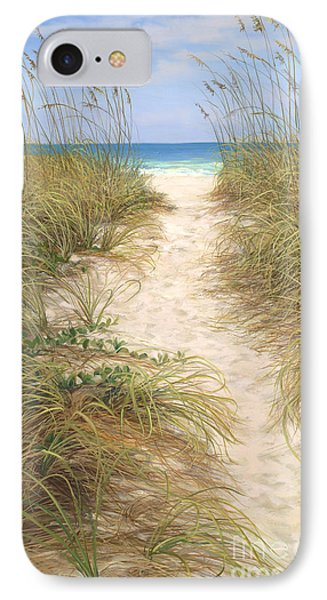 Beach Access IPhone Case by Laurie Hein